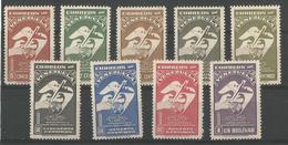 Christophe Colomb Yt 278-286 - Venezuela