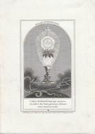 Marie Argentine Sophie Backx-malines -convent De Marie Louvain 1837 - Devotion Images
