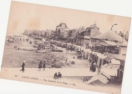 CPA - 13. SAINT AUBIN - Vue Générale De La Plage - Saint Aubin