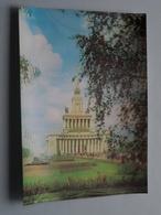 MOSCOW The Exhibition Of ECONOMIC ACHIEVEMENTS Of The USSR - The PAVILION ( Details : Zie Foto's ) 3D ! - Russie