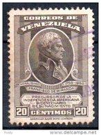 VENEZUELA - FRANCISCO DE MIRANDA - BICENTENAIRE DE LA NAISSANCE - BICENTENARY OF BIRTH - 1950 - Oblitéré - - Venezuela