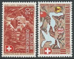 1941 SVIZZERA PRO PATRIA CONFEDERAZIONE MH * - I56-7 - Nuovi