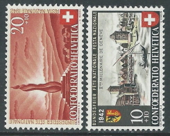 1942 SVIZZERA PRO PATRIA CITTA DI GINEVRA MH * - I56-8 - Nuovi