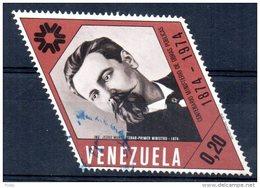 VENEZUELA - CENTENARIO MINISTERIO DE OBRAS PUBLICAS - 1974 - Oblitéré - - Venezuela