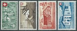 1946 SVIZZERA PRO PATRIA INDUSTRIA CASEARIA E CASE MNH ** - I55-9 - Nuovi