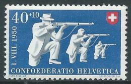 1950 SVIZZERA PRO PATRIA TIRATORI 40 CENT MNH ** - I53-9 - Nuovi