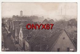 Carte Postale Photo OPPAU-LUDWIGSHAFEN Am Rhein (Allemagne) Explosion-Catastrophe-1921 Deutschland Foto Fiebig - Ludwigshafen