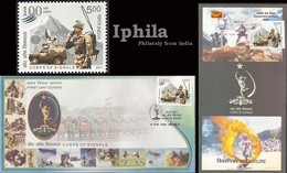 Indian Army 2011 FDC Stamped Folder Corps Of Signals Radio Communications Car With Satellite Dish - FDC