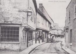 SANDWICH - STRAND STREET 1900.  LIBRARY REPRINT - England