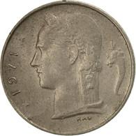 Monnaie, Belgique, Franc, 1971, TB+, Copper-nickel, KM:142.1 - 1951-1993: Baudouin I