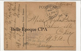 USA - American Expeditionary Force - AEF In FRANCE ++++ WWI / Passed CENSOR / To Ohio, USA, 1919 +++++ - Otros