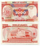Uganda - 1000 Shilingi 1986 - Uganda