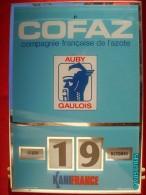 POC1     056     P0595  AUBY. 34x24  COFAZ  GAULOIS AZOTE KANIFRANCE  Par GERRER MULHOUSE 1975 PLEXIGLASS INDUSTRIE - Unclassified