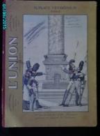 POC1    008    Fort Carton   ASSURANCES  .9 PLACE VENDOME PARIS  31 X 23  HUSSARDS  .BON ETAT . - Paperboard Signs