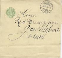M 1  Zeitungs-Banderolle Zürich ( Enge ) Um 1906 - 1882-1906 Wappen, Stehende Helvetia & UPU