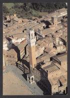 82805/ SIENA, Piazza Del Campo, Torre Del Mangia E Palazzo Comunale - Siena