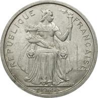 French Polynesia, 2 Francs, 1965, Paris, TB+, Aluminium, KM:3 - French Polynesia
