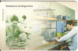 ARGENTINA(chip) - Telecommunications, Telefonica Telecard(C 7), Used - Argentina