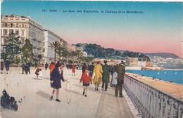 F06-065 NICE - Le Quai Des Etats Unis, Le Château Et Le Mont Boron - Sets And Collections
