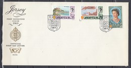 Fdc Jersey - First Definitive Issue 1969 (1 Ocotober 1969) - Jersey