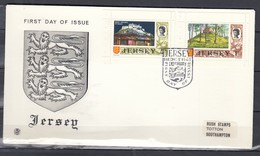 Fdc Jersey - First Day Of Issue (1 Ocotober 1969) - Jersey