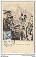 GUERRE DE COREE ..-- 1951 . Débarquement Du Contingent Belge . Compagnie B . - Corée Du Sud