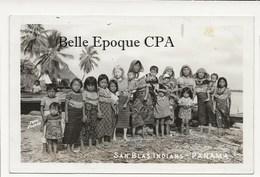 Panama - SAN BLAS Indians / Albinos / Albino / Albinism +++++ CARTE-PHOTO / Real Photo Postcard - Panama