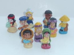 FEVE ENFANTS DU MONDE, LOT DE 9 - Characters