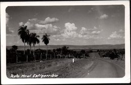 "Paraguay Sin Fecha. Foto Real Agfa Lupex  Para Postal: ""Ruta Mariscal Estigarribia"". - Paraguay"