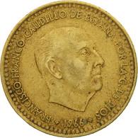 Espagne, Francisco Franco, Caudillo, Peseta, 1975, B+, Aluminum-Bronze, KM:796 - [ 5] 1949-… : Royaume
