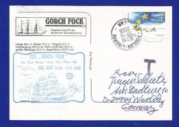 """Schiffspost -  """" Gorck Fock """" -  Toulon - Postkarte - Post"""