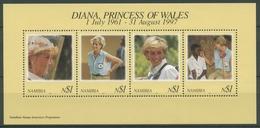 Namibia 1998 Prinzessin Diana Block 38 Postfrisch (C25059) - Namibia (1990- ...)