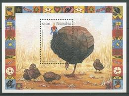 Namibia 1997 Weihnachten Helmperlhuhn Block 30 Postfrisch (C25032) - Namibia (1990- ...)