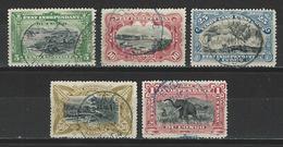Kongo Freistaat Mi 26-30 Used - Belgian Congo