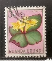 RUANDA URUNDI   OBLITERE - Ruanda-Urundi