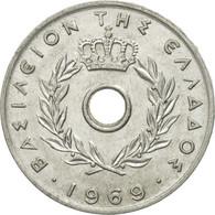 Grèce, 20 Lepta, 1969, TTB, Aluminium, KM:79 - Grèce