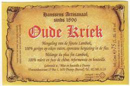 Etiket België 0558 - Bière