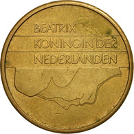 Pays-Bas, Beatrix, 5 Gulden, 1988, TB+, Bronze Clad Nickel, KM:210 - [ 3] 1815-… : Kingdom Of The Netherlands