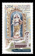 Andorra (FR) 2018 Mih. 838 Church Of Santa Coloma D'Andorra MNH ** - Andorre Français