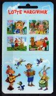 "2015 Estonia - Estonian Comics Lotte / Kinderbuchserie ""Lotte"" - MH/ Booklet - MNH** MI 825/8 (zz17) - Stripsverhalen"