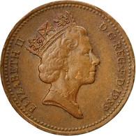 Grande-Bretagne, Elizabeth II, Penny, 1980, TTB, Bronze, KM:935 - 1971-… : Monnaies Décimales
