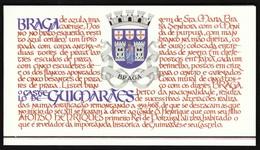 Portugal 1986 / Portuguese Castles (III) / Castle / Arms Of Braga / Markenheftchen, Booklet, Carnet - Castles