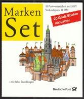 Germany 1975 / 1100 Jahre Altstadt Nördlingen / History, Architecture / Markenheftchen, Booklet, Carnet MNH - BRD