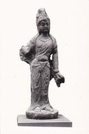 Photo Légendée En Chinois Au Dos: Statue Féminine - Chine