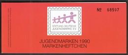 Germany 1990 / Philatelic Exhibition DUSSELDORF / Berlin Jugendmarken Max Und Moritz/ Markenheftchen, Booklet, Carnet - Exposiciones Filatélicas