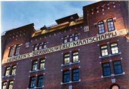 Amsterdam - Heiniken Brewery - Heiniken Experience - Postcard - Not Runned Beer, Monuments, Drinks - Handel
