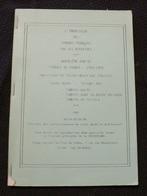 L'impression Des Timbres Francais Par Rotatives - Quatrieme Partie Timbres 1954-1959 Tirages Des Coins Dates - Port 2e - Autres