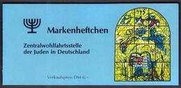 Germany 1984 / Christmas / Marc Chagall, Jerusalem Window Levi  / Jews In Germany  / Markenheftchen, Booklet, Carnet - Noël