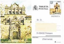 Spanien Bildpostkarte - Toledo, Hospital Santa Cruz, Architektur - Ganzsachen