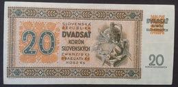 Slovakia, 20 Korun 1942 Serie Cg 6 - Slovakia